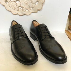 Brooks Brothers Black Leather Oxfords